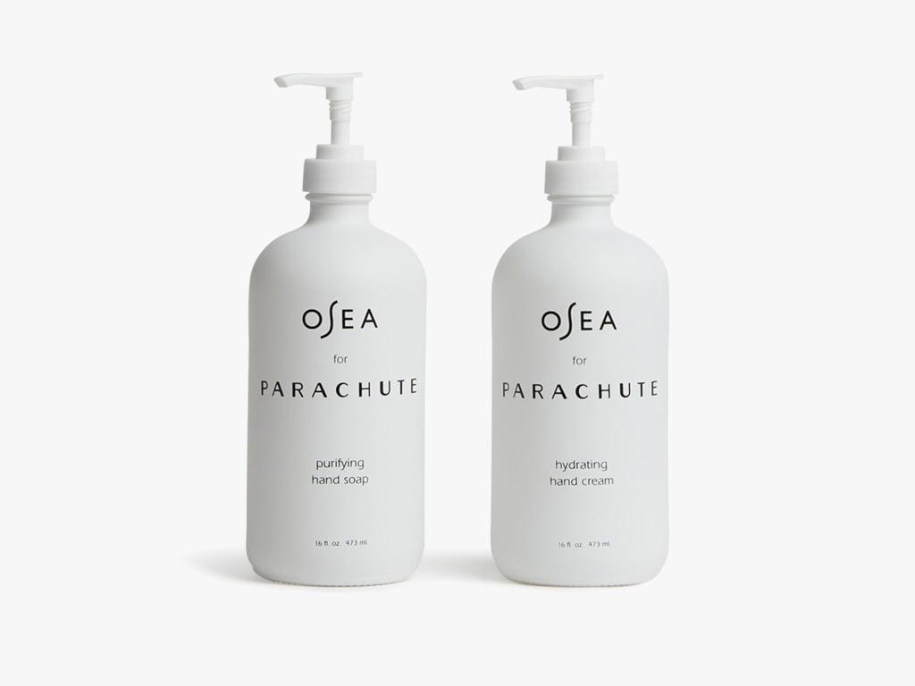 Osea For Parachute Nourishing Hand Soap + Cream Bundle