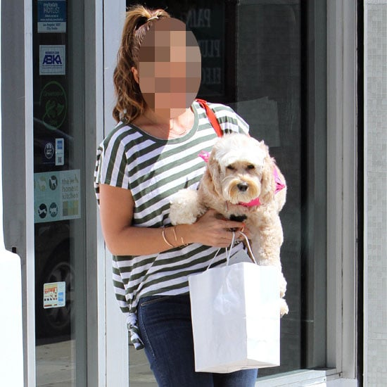 Guess Who: Which Stylish Star Was Snapped on the Street in LA with Her Too Cute Dog?