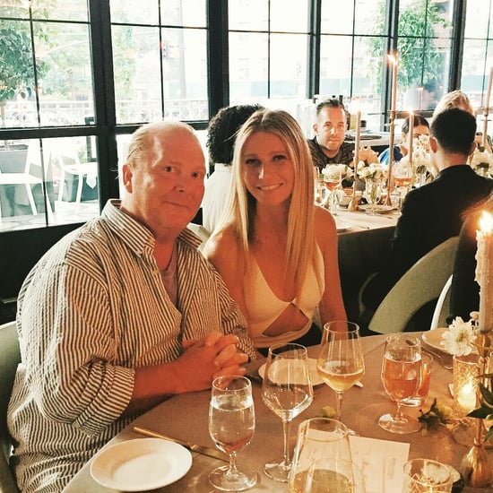 Mario Batali and Gwyneth Paltrow Eating Together July 2016