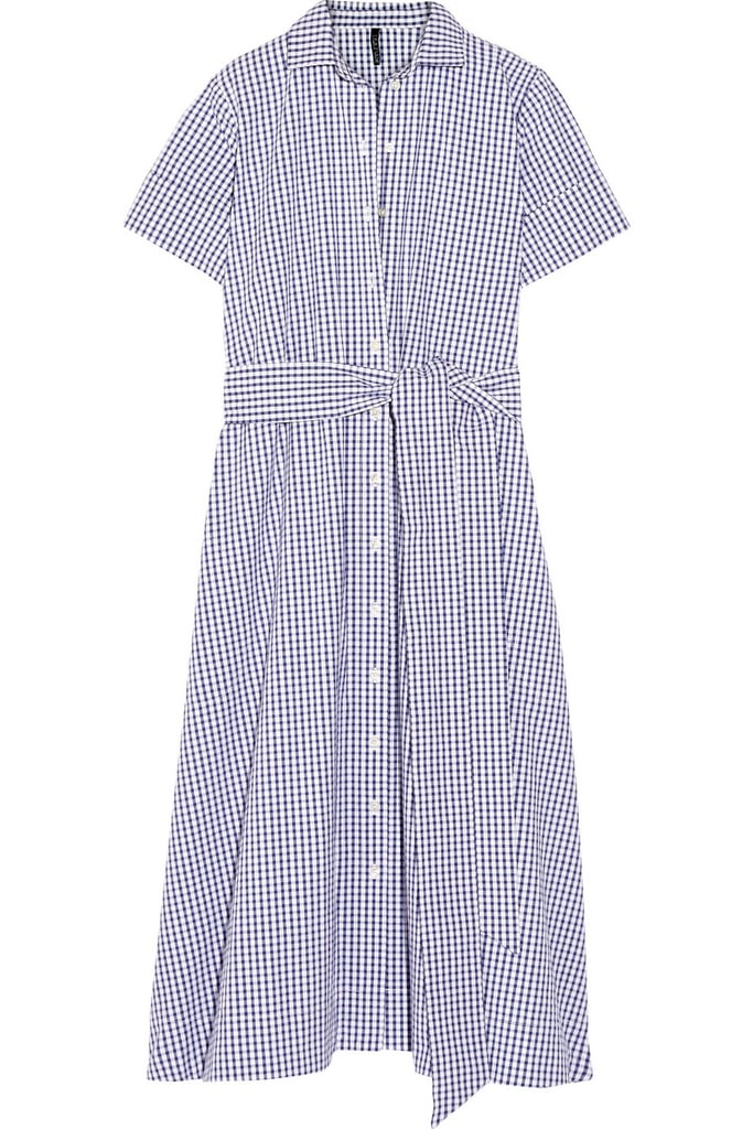 Lisa Marie Fernandez Gingham cotton shirt dress ($495)