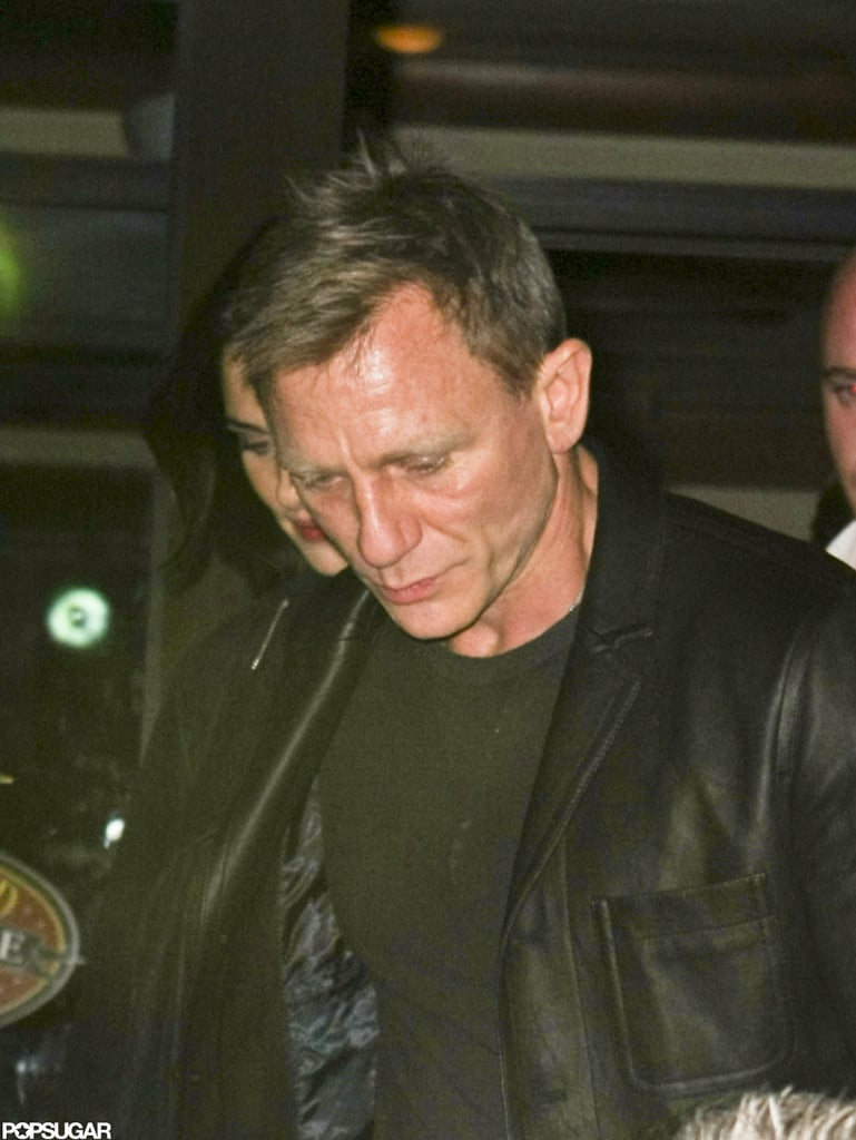 Daniel Craig stayed for a SNL party in NYC after hosting an episode of the show.