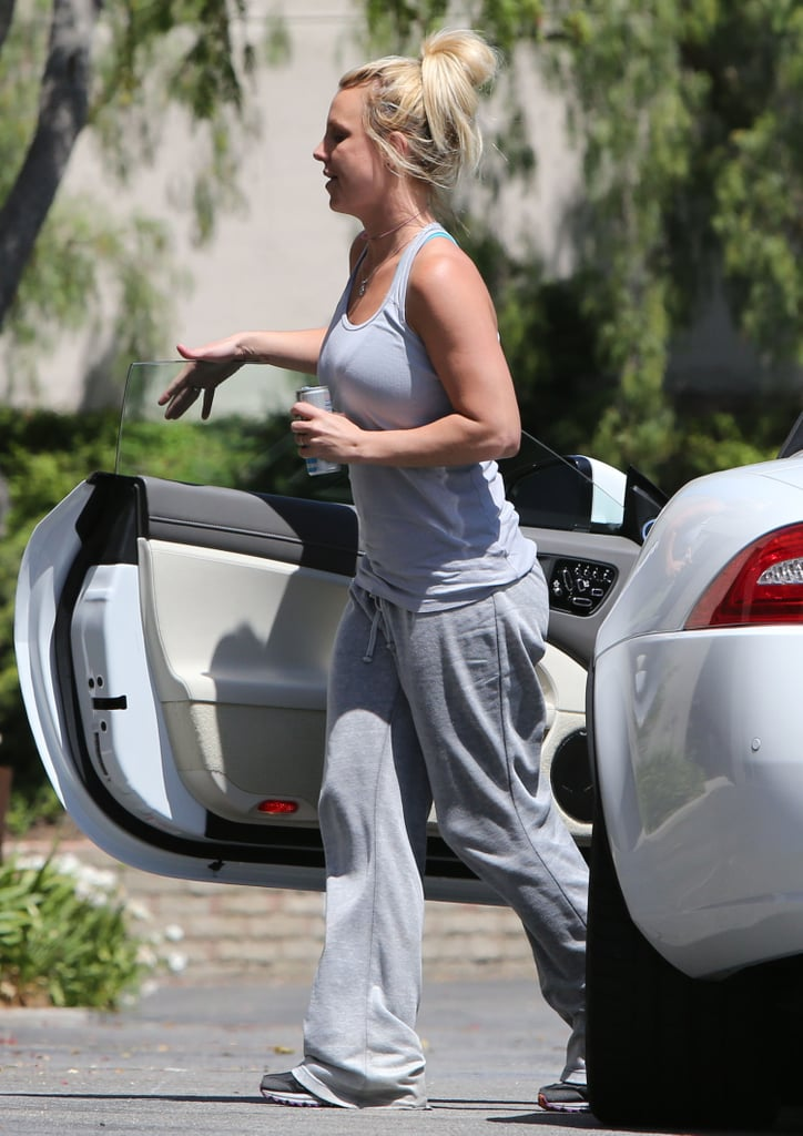 Britney Spears Works Up a Sweat Ahead of Her Vegas Debut
