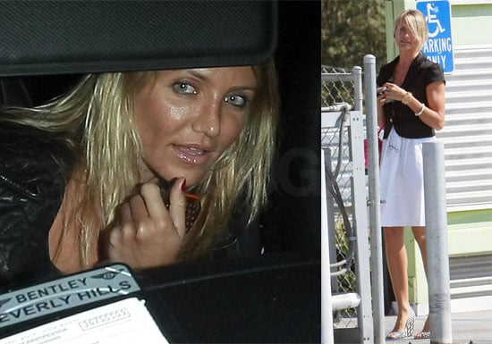 Photos of Cameron Diaz at Chateau Marmont in LA