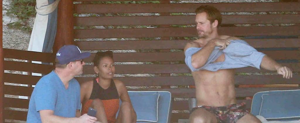 Alexander Skarsgard's Shirtless Vacation Will Get Your Blood Pumping