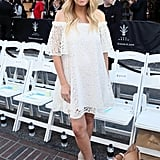 Lauren Conrad White Maternity Dress at Rebecca Minkoff