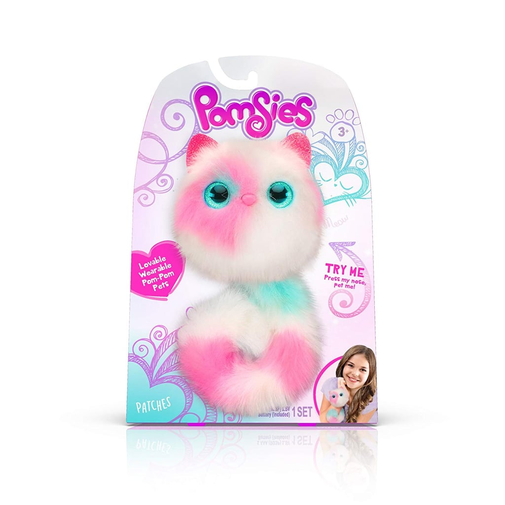 For 5-Year-Olds: Pomsies Patches Plush Interactive Toy
