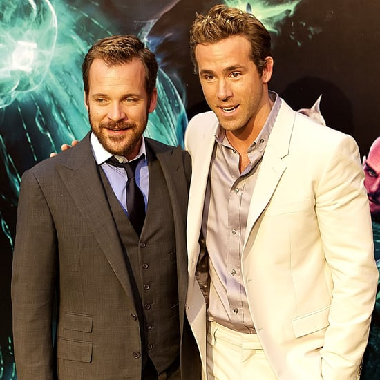 Ryan Reynolds and Peter Sarsgaard in Spain For Green Lantern