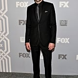 Zachary Quinto looked dark and handsome at the Fox afterparty.