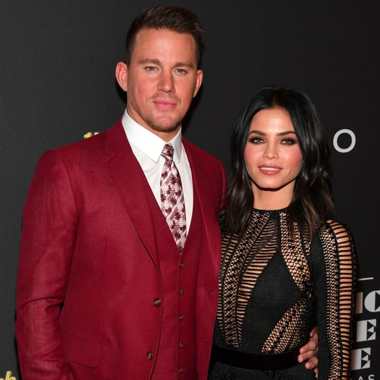 Jenna Dewan and Channing Tatum at Magic Mike Opening 2017