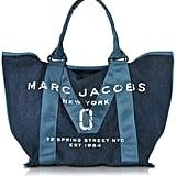 Marc Jacobs Denim Blue New Logo Tote Bag