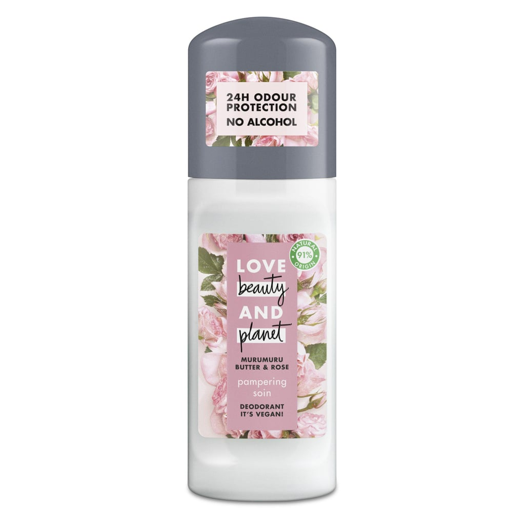 Love Beauty & Planet Vegan Pampering Muru Muru Butter and Rose Deodorant