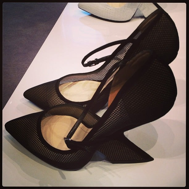 When have you ever seen a heel like that?! Thank you for enlightening us, Dior.