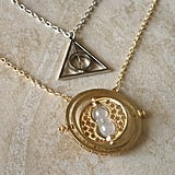 Harry Potter and Time Turner Necklaces ($8)