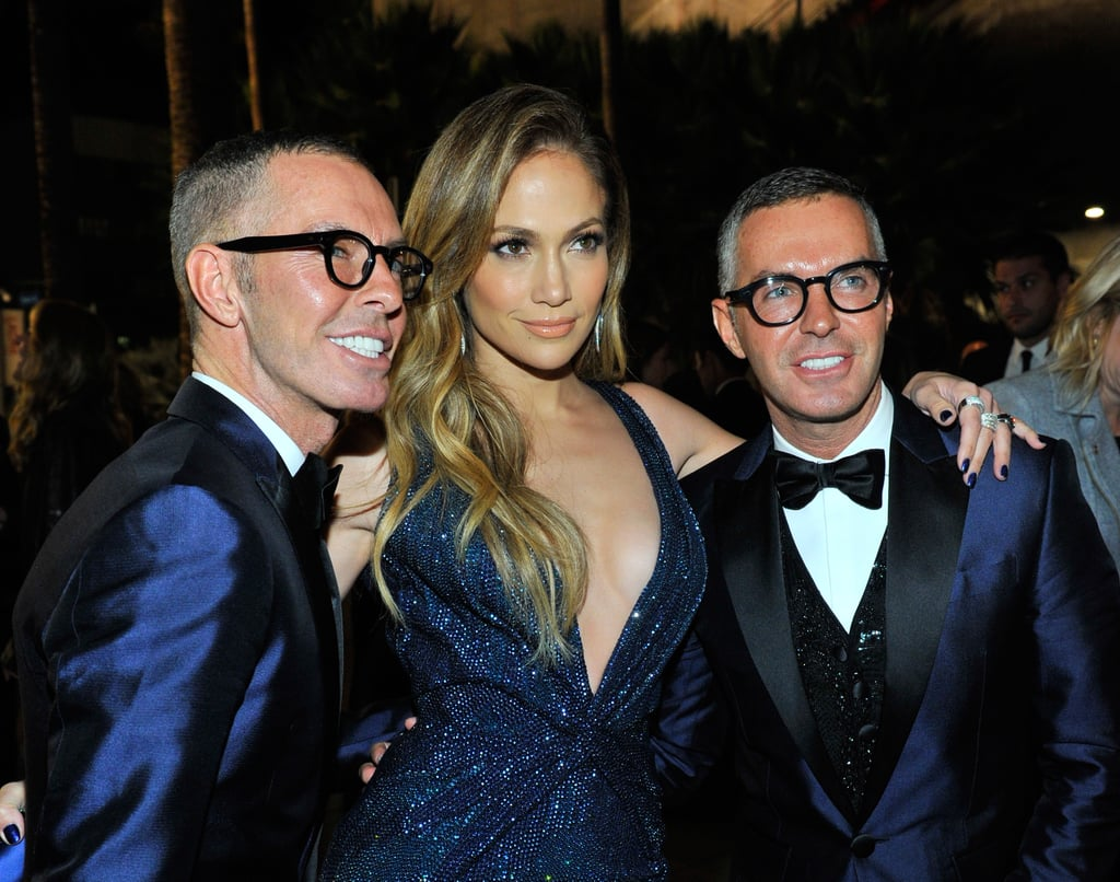 e9a1a507e753 Jennifer Lopez must have had double vision when she posed for a picture  with designer duo