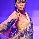 Valentina Sampaio on the Jean-Paul Gaultier Runway