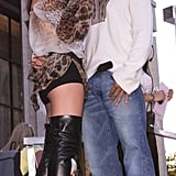 Jennifer Lopez and Cris Judd, 2001