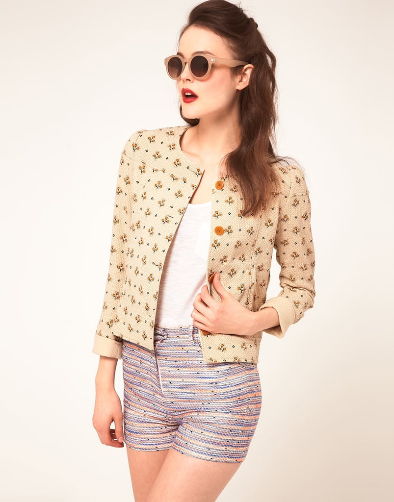 Sessun Boxy Jacket in Quilted Cotton ($267)