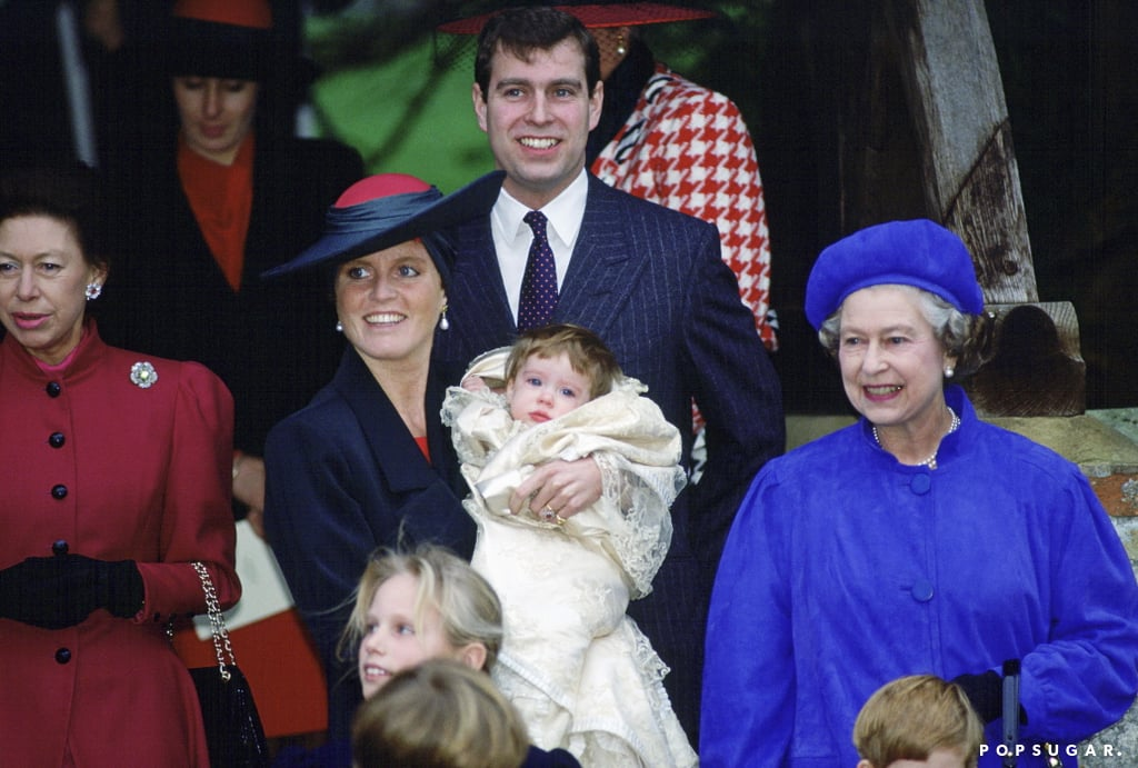 Princess Eugenie and Queen Elizabeth II Pictures