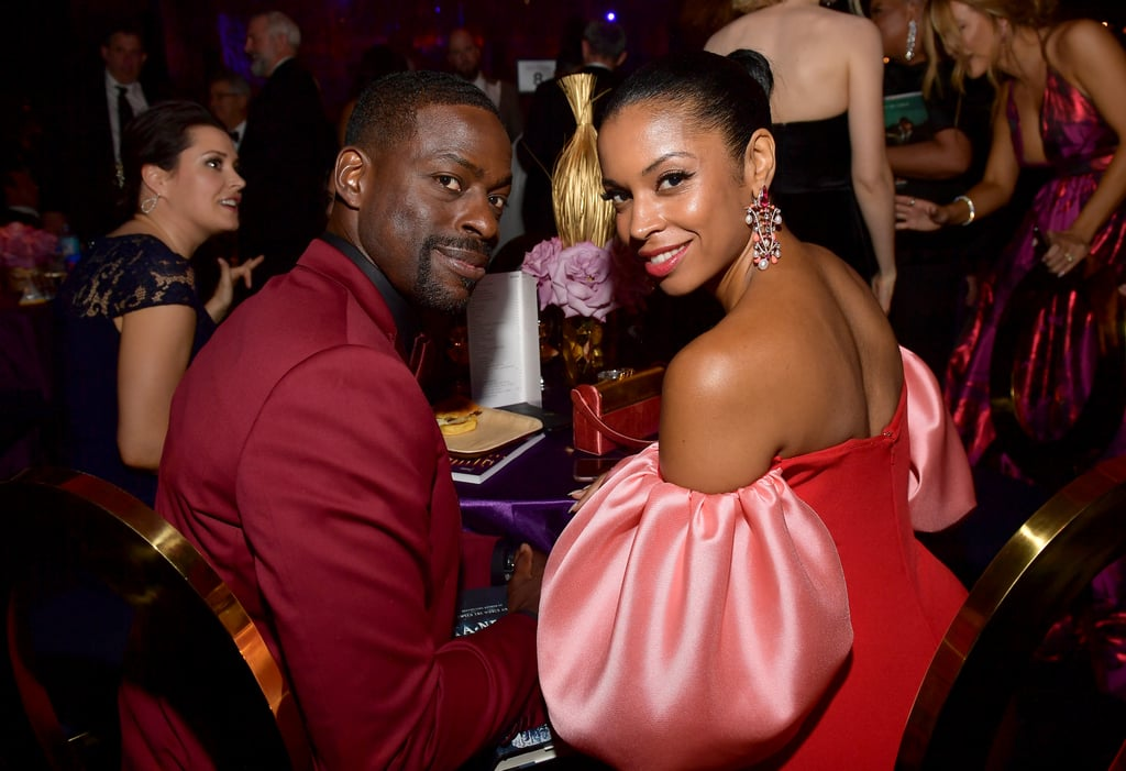 Sterling K. Brown and Susan Kelechi Watson at the 2019 Emmys