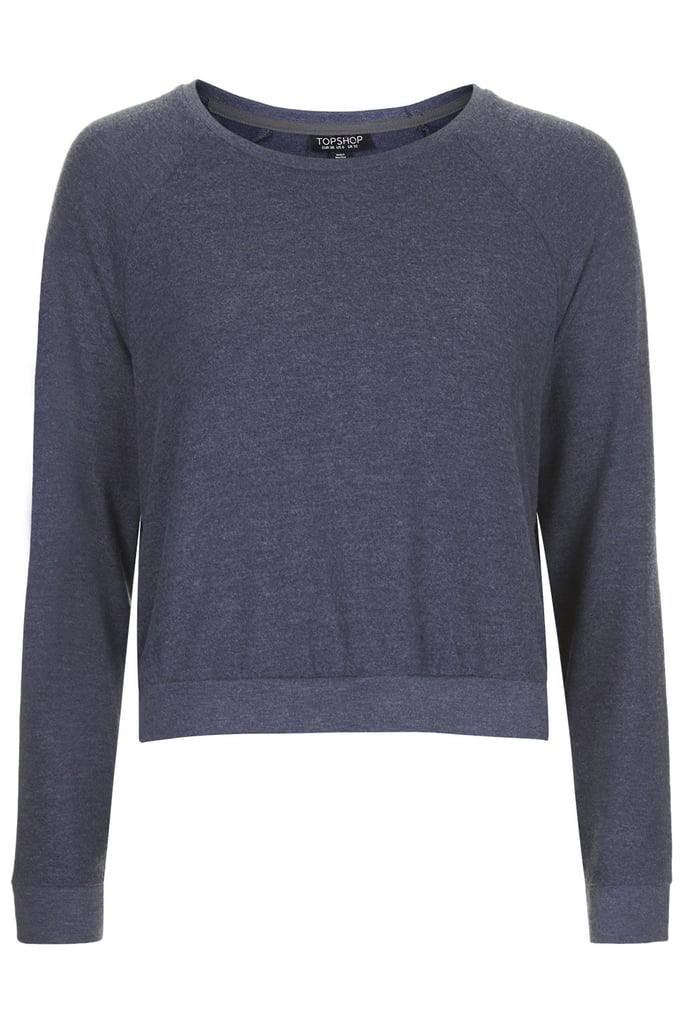 Topshop Textured Loungewear Sweater