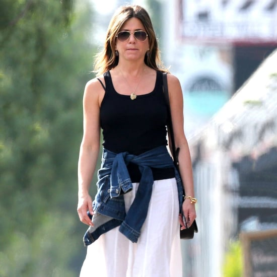 Jennifer Aniston Shopping in LA March 2017