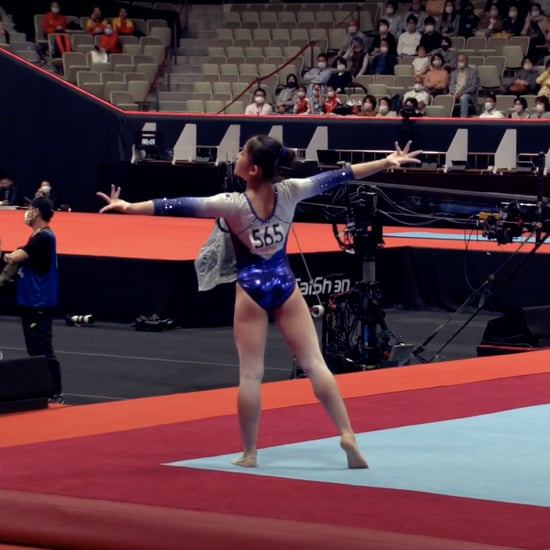 Watch Shin Solyi's Queen Floor Routine From 2021 Worlds