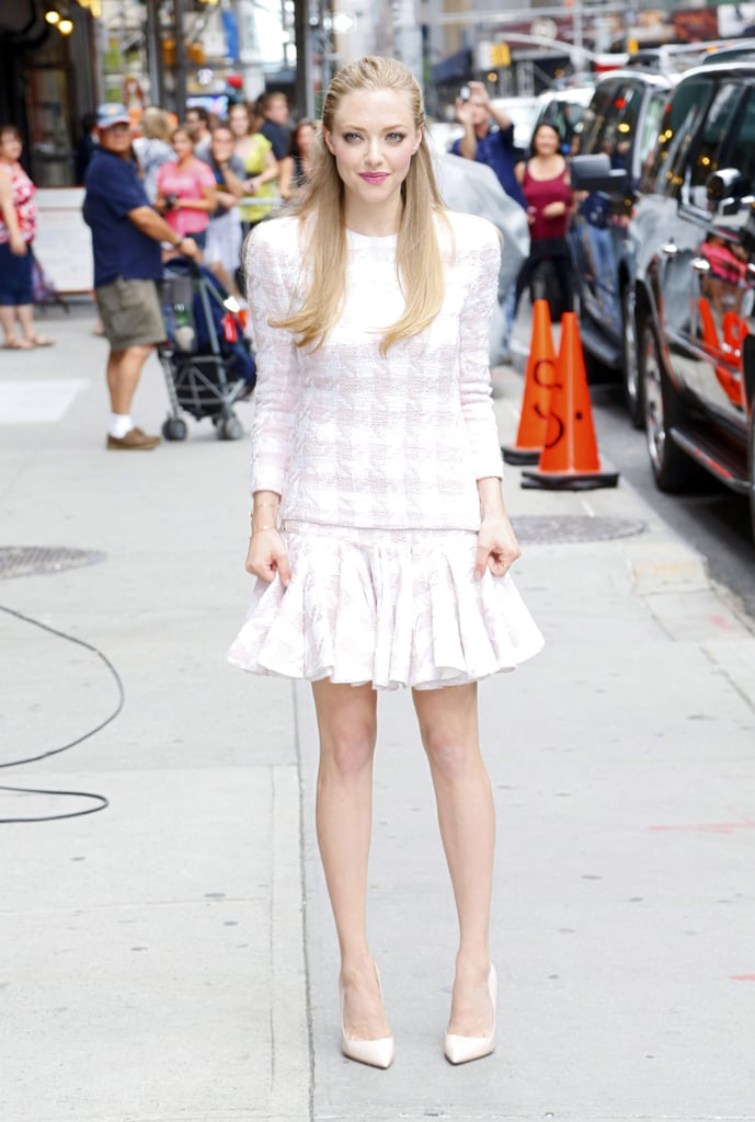 Amanda Seyfried in Balmain