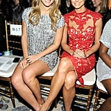 Bar Refaeli and Stacy Keibler posed together.
