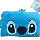 Disney's Stitch Face Plush Cosmetic Bag