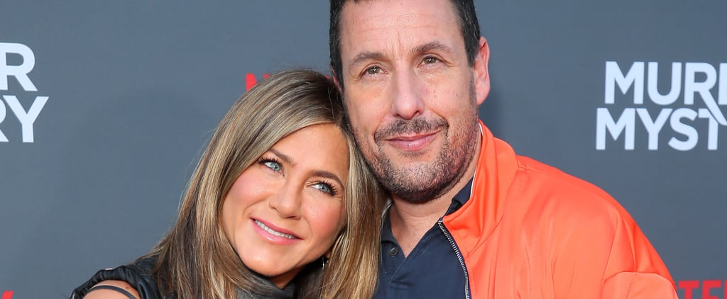 Adam Sandler and Jennifer Aniston Friendship Pictures