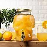 Skull Shaped Mason Jar Drink Container