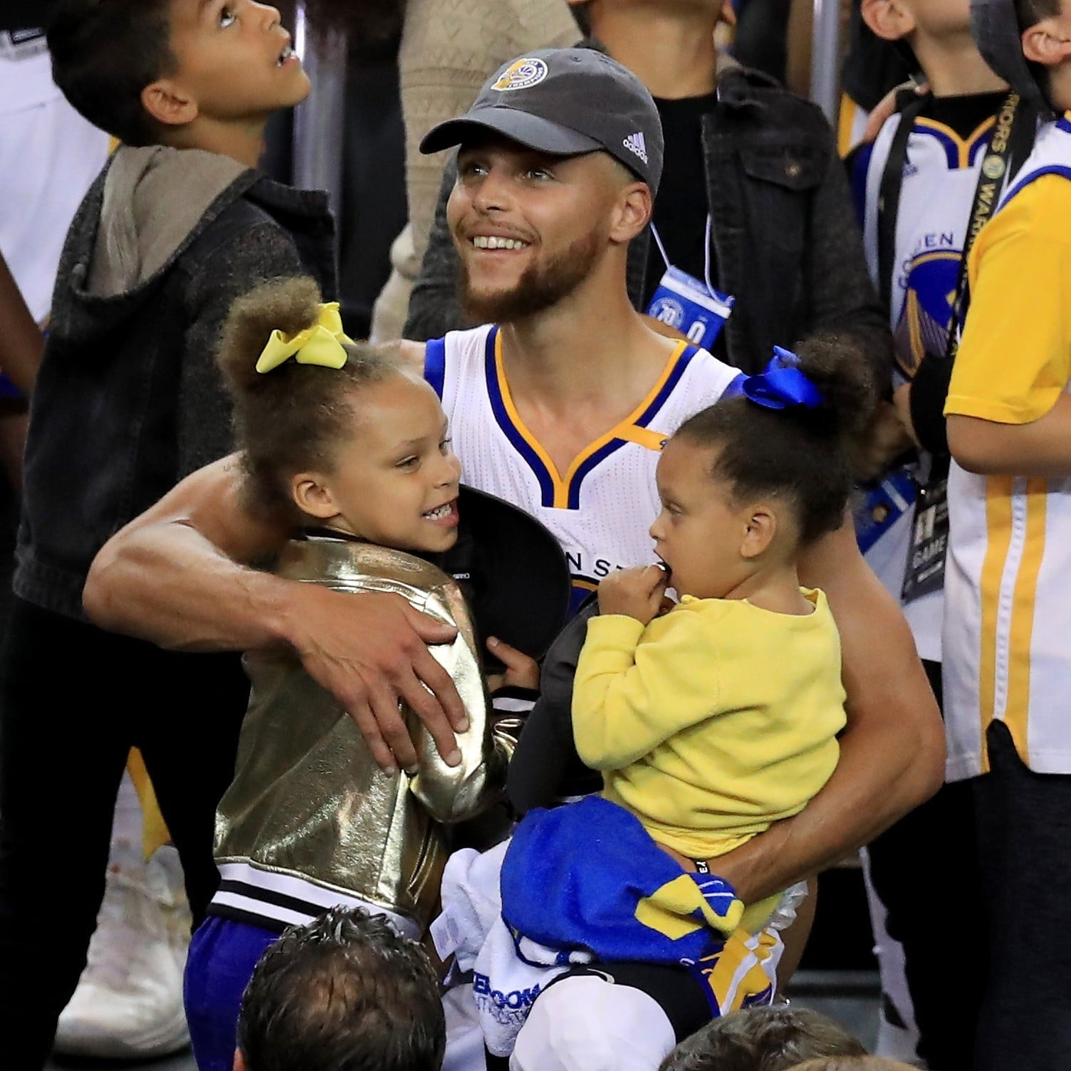 reputable site db447 b6a61 Pictures of Stephen Curry s Family and Daughters   POPSUGAR Celebrity