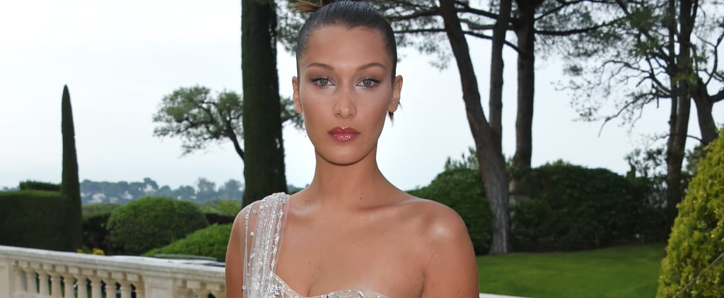 Bella Hadid Somehow Makes This Nearly Naked Dress Look Easy to Wear