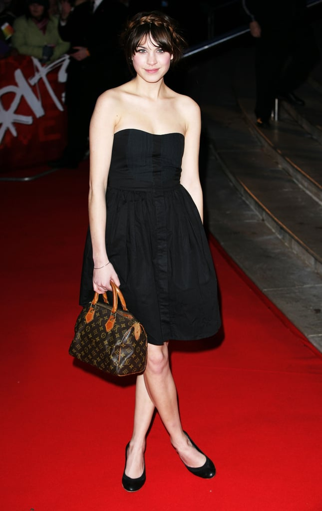 Pared-down pretty at the Brit Awards in '07.