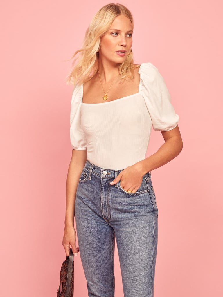 Reformation Rosa Top