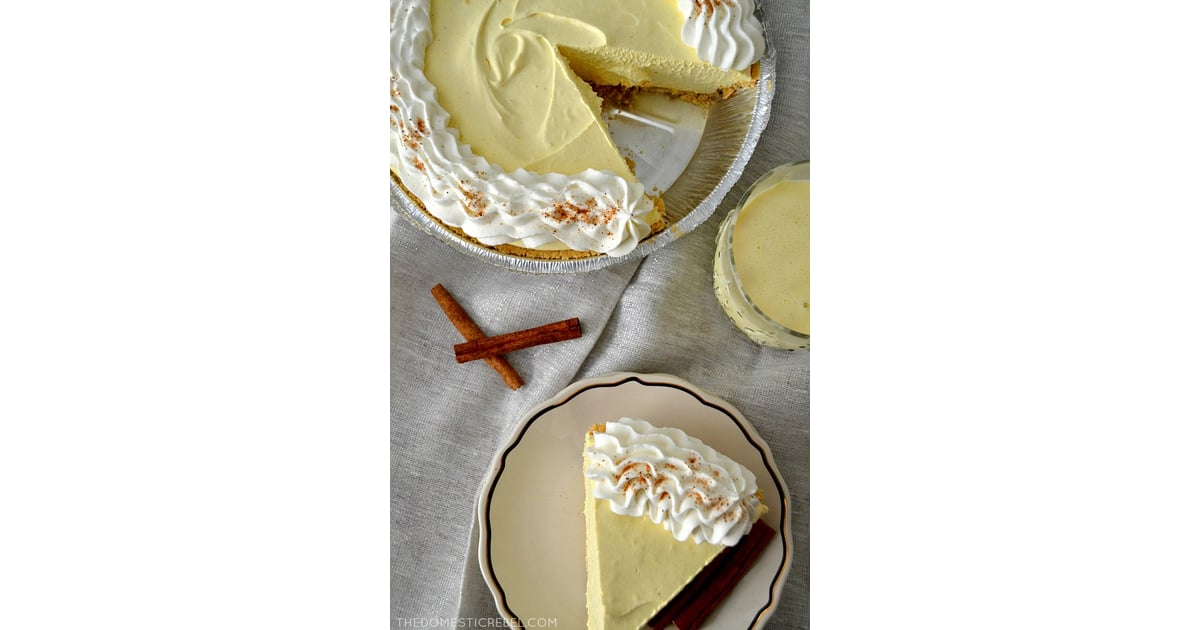Eggnog Cream Pie | No-Bake Holiday Desserts For Kids ...