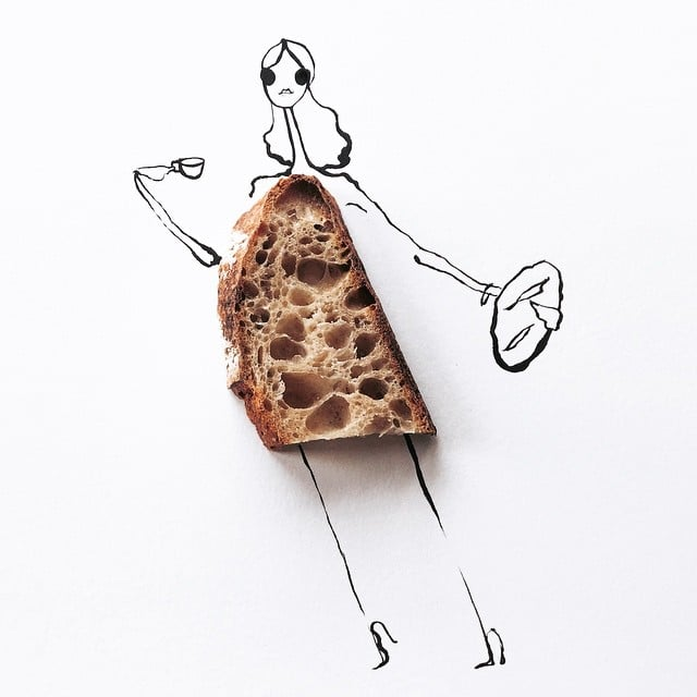 Who knew carbs were this chic?