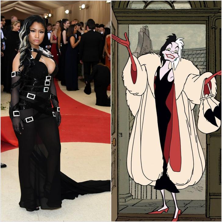 Nicki Minaj as Cruella De Vil
