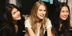 Nanette Lepore Shows Us How to Soften a Red Lip
