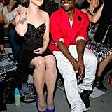 When He Got to Sit Next to Kelly Osbourne