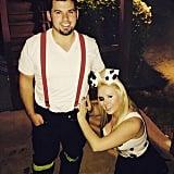 Fireman and Dalmatian
