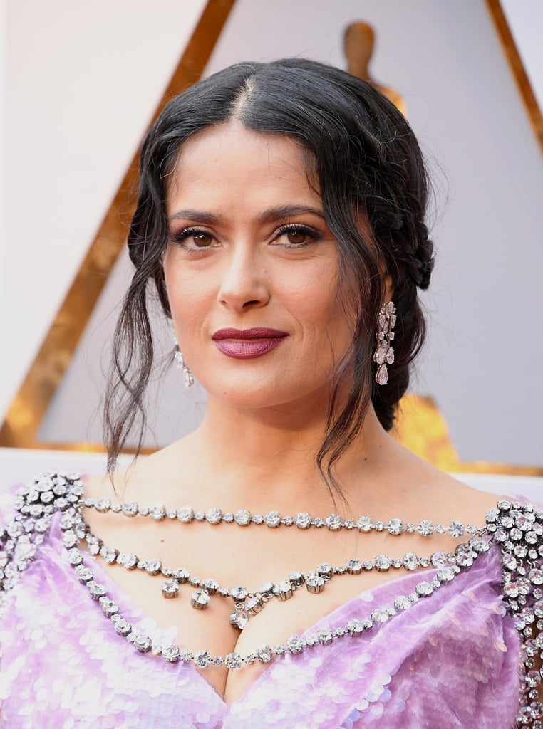 Salma Hayek at the Oscars 2018