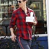 Matthew McConaughey picked up food from a bakery.