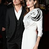 Angelina Jolie Makes a Floral Statement at Her Paris Premiere