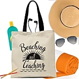 Beaching Not Teaching Tote