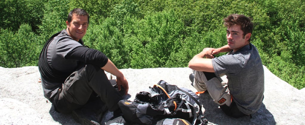 Zac Efron and His Abs Defy Death With Bear Grylls!
