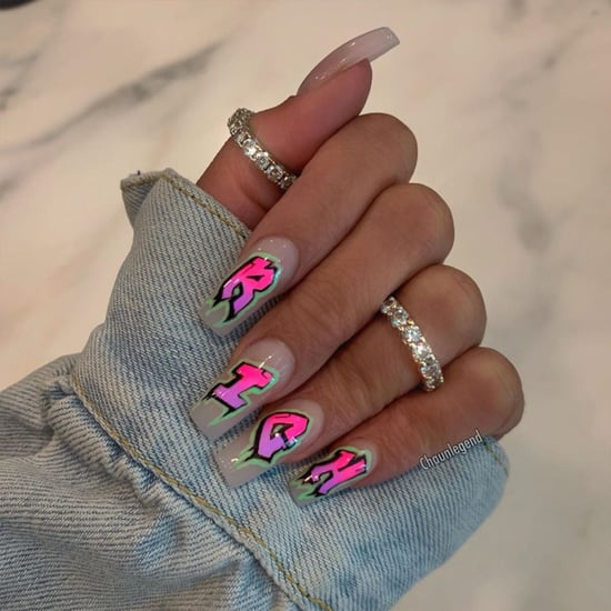 Grafitti Nail Art