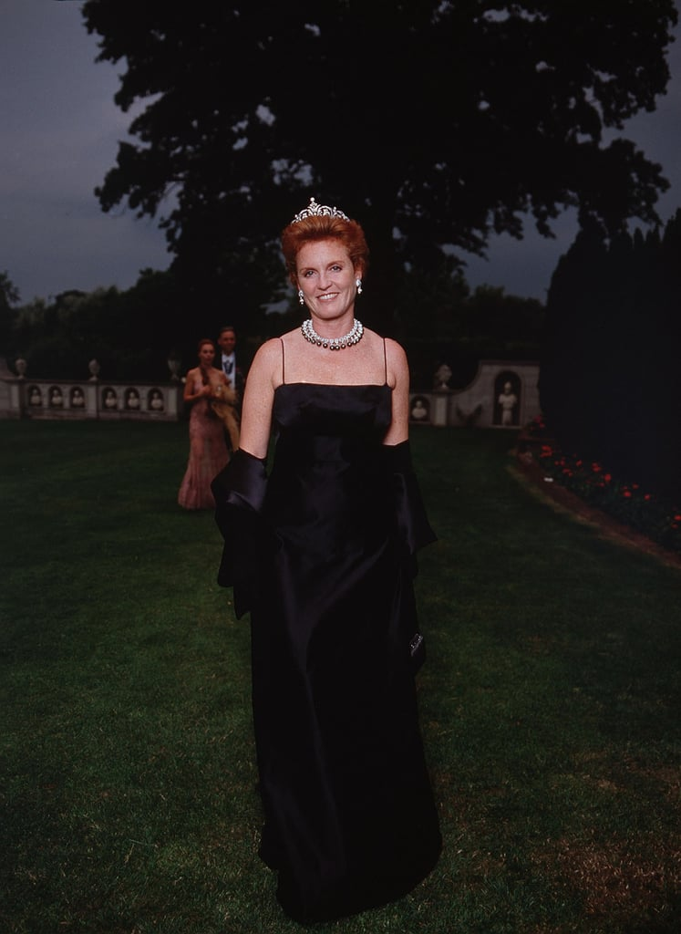 She Then Wore It on Several Other Occasions, Such as to Elton John's White Tie and Tiara Ball in 2001