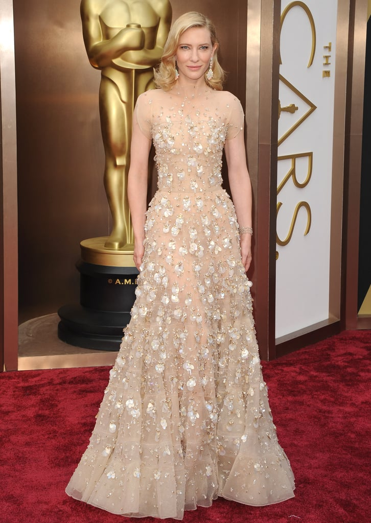 d89ee609543 Cate Blanchett in Armani Privé at the 2014 Oscars | Cate Blanchett ...