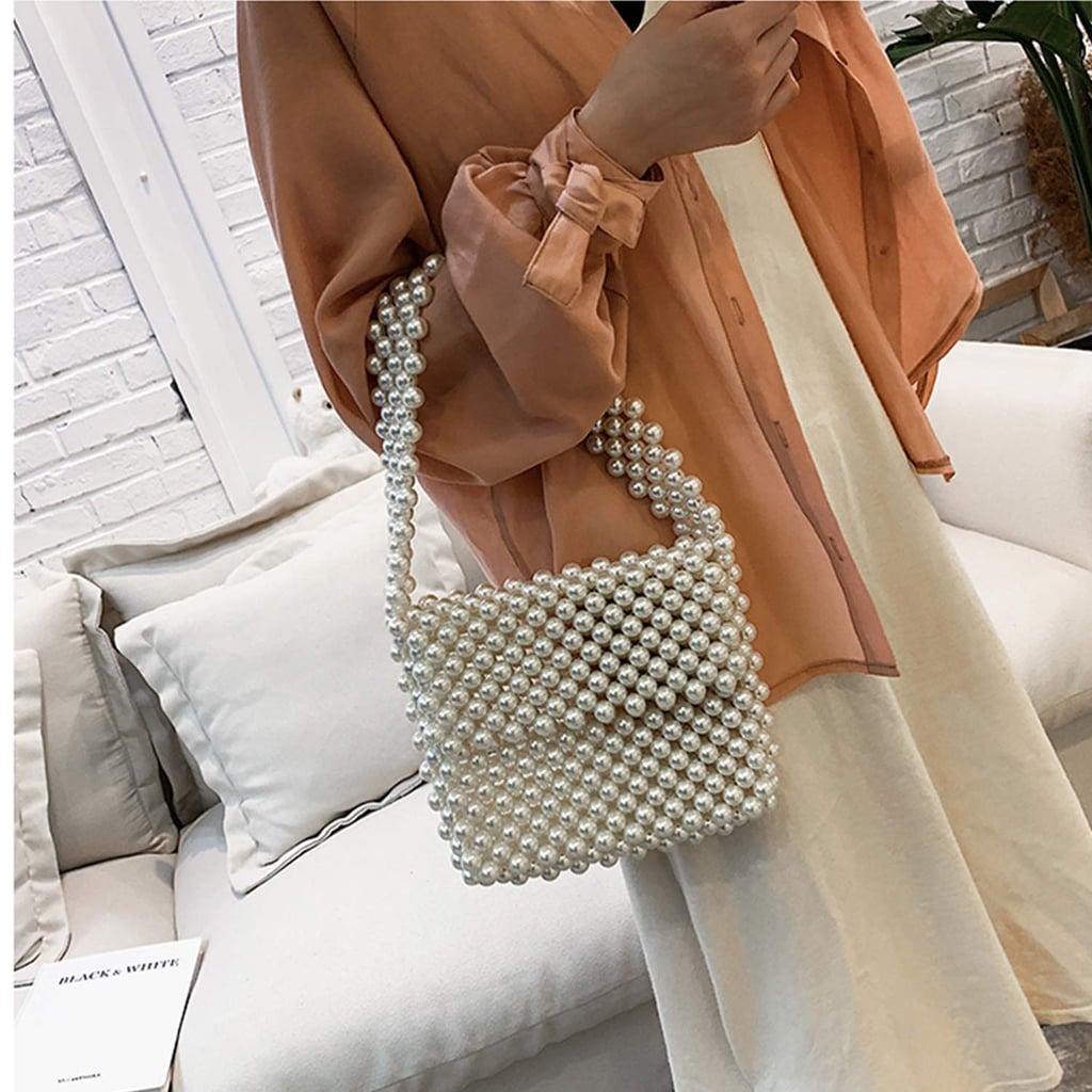 Z-synka Hand-Woven Pearl Bag